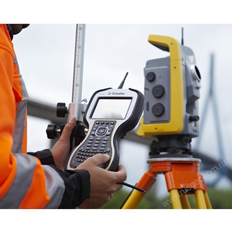 Использование Trimble TSC3 TA QWERTY keypad